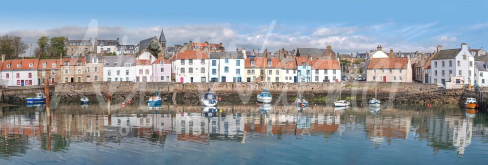 St Monans Harbour panoramic print