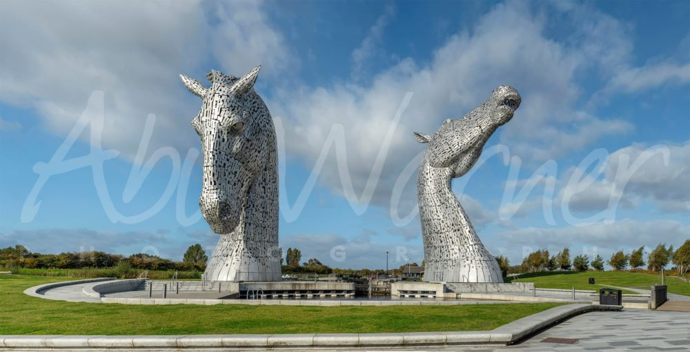 The Kelpies Panoramic Print